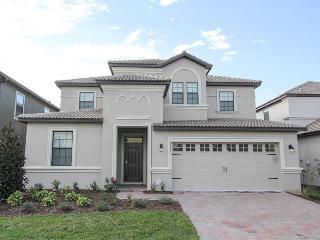 Stylish Championsgate luxury villa has a Games room- Private pool- Spa- 7 beautiful bedrooms, Loughman