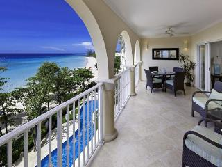 Classic 3 bedroom apartment, located on the beach, overlooking the Caribbean Sea, Dover