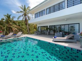 3 bedroom deluxe sea view villa with fitness room, Chaweng