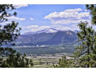 Colorado Views of Air Force Academy and Pikes Peak, Monument