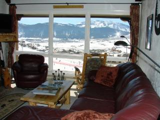 Spectacular views on the slopes of Crested Butte