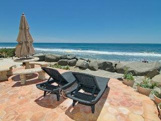 Gorgeous Single Family Beachfront Home on the Sand P7241-0, Oceanside