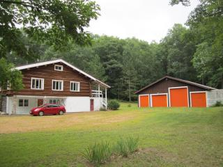 Custom Built Log Home Nestled on 80 Wooded Acres, Pembine