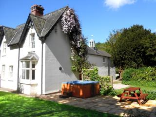 Forest Cottage private Hot Tub, Mid Wales SY16 4DW, Newtown