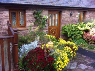 Birch cottage at Pentre farm Usk country cottages