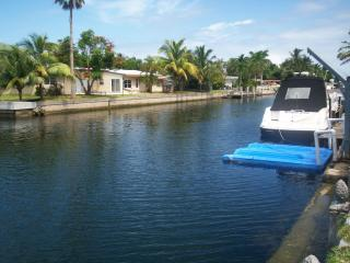 SeaSide Point with Private Dock and Pool, North Miami