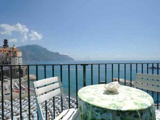 Marea with terrace and sea view, Atrani