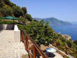 Villa Nenno woth terrace overlooking the sea, Conca dei Marini