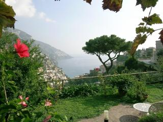 Villa Borgo Fiorito with terrace and sea view, Positano