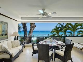Luxurious 3 bedroom apartment, with a wide private terrace offering sea views and has a Jacuzzi Pool., Paynes Bay