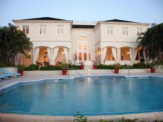 Elegant home is located on 1 1/2 acres of ridge land at Sandy Lane Estate with wonderful ocean views, Sunset Crest