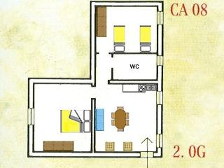 2 bedroom in Florence Tuscany apartment and swimming Pool 129 - TFR63, Montaione