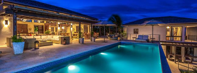 Villa Aquamarie AVAILABLE CHRISTMAS & NEW YEARS: Anguilla Villa 63 Sits On A Slight Landscaped Rise Overlooking The Caribbean Sea And The Mountains Of St. Maarten Beyond., Little Harbour