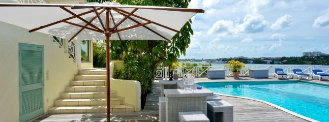 Villa Grand View SPECIAL OFFER: St. Martin Villa 376 Breathtaking Water Views From This Beautiful Villa Perched High On The Coastline Of Terres Basses.