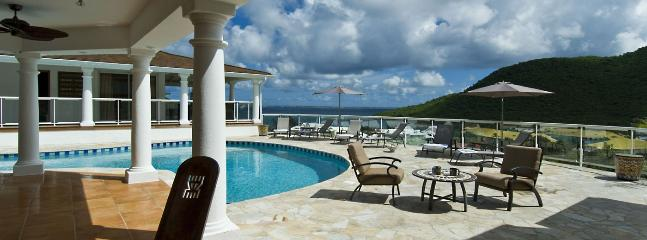 SPECIAL OFFER: St. Martin Villa 33 Commanding Stunning Views Over The Bay And Marina., Anse Marcel