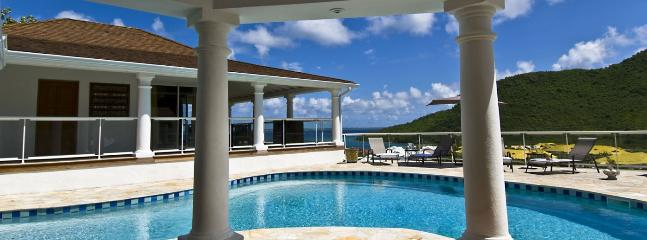 Villa Del Mar SPECIAL OFFER: St. Martin Villa 365 Commanding Stunning Views Over The Bay And Marina., Anse Marcel