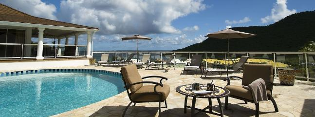 Villa Del Mar SPECIAL OFFER: St. Martin Villa 366 Commanding Stunning Views Over The Bay And Marina., Anse Marcel