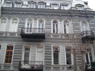 19th Century Studio with Balcony by Freedom Square, Tbilisi