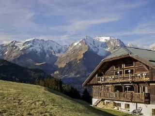 Authentic Chalet La Montagne with Spa, Gym, Private Chef & direct Ski Access, Megève