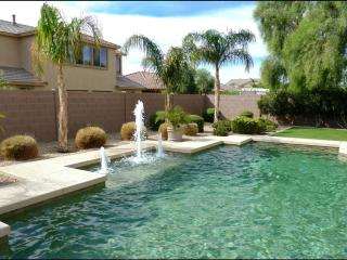 Exquisite 4500 sq feet Estate with heated Pool, Spa, Billiard, video-games, Home theater & resort backyard, Goodyear