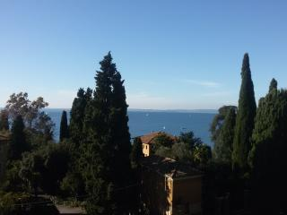Unique 3rd floor flat front lake with amazing view, Garda