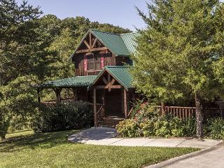 Owlpine Lodge a three bedroom cabin sleeping 12 with free high speed internet, Sevierville