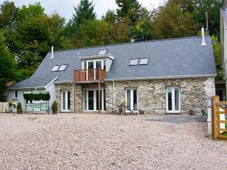 THE BARN AT MAESTEILE, Sky TV, WiFi, superb country views, en-suite facility, mulit-fuel stoves, near Llanybydder, Ref. 916883