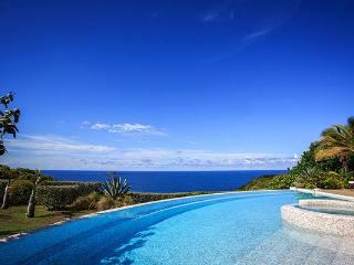 Villa on a private estate with Indonesian accents & earthy tones WV AHA, St. Barthelemy