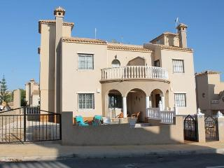Quad house for holiday rent in El Galan, Villamartin