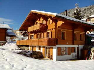 Luxury Traditional Swiss Chalet, Close to Lifts, Leysin