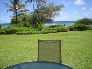 Oceanfront, End Unit, King Bed, Wifi, Full Kitchen, Lihue