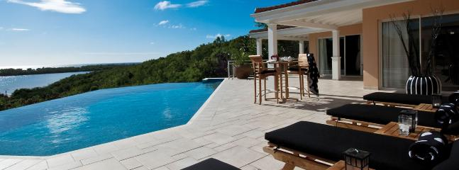 Villa Sea Vous Play SPECIAL OFFER: St. Martin Villa 106 Nestled On A Hillside In The Heart Of The Exclusive Enclave Of Terres Basses, Offering Open Views Of Baie Longue And The Ocean.