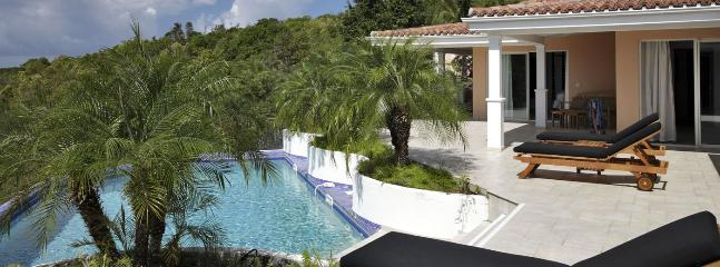 Villa Sea Vous Play SPECIAL OFFER: St. Martin Villa 411 Nestled On A Hillside In The Heart Of The Exclusive Enclave Of Terres Basses, Offering Open Views Of Baie Longue And The Ocean.