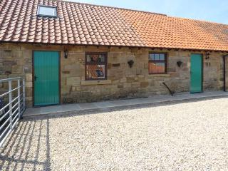 THE STABLE, exposed stone walls and feature beams, great walking location, pet-friendly cottage near Aislaby, Ref. 5066