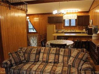 Located at Base of Powderhorn Mtn in the Western Upper Peninsula, A Condo-Style Home 1 block from Main Ski Lodge, Dated but Comfortable, Ironwood
