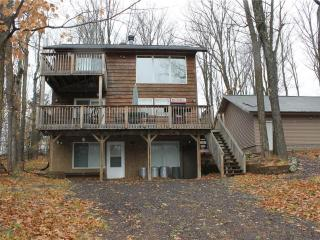 Located at Base of Powderhorn Mtn in the Western Upper Peninsula, A Comfortable Home with Unique Layout & Outdoor Hot Tub, Ironwood