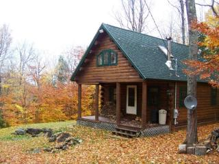 #206 Comfortable log cabin in the woods of Maine, Greenville