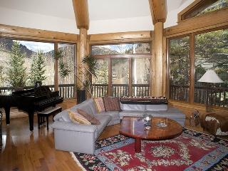 From this beautiful vacation home, you`ll especially enjoy the wrap-around deck and panoramic views., Vail