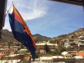 Bisbee Brew House with stunning views