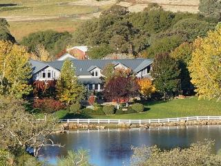 Inspiring, Secluded Luxury Ranch on Private Lake, Penn Valley