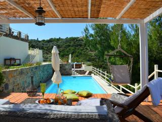 Pool Villa 'Melitini' nearby beach and town., Skopelos