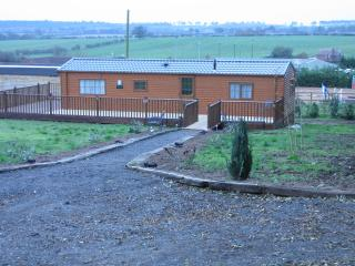 Log cabin on a farm / riding school Nottingham, Ravenshead