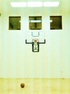 Basketball Court- inside the Nordic Inn