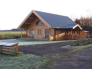 Luxury self catering at Tall Pine Lodge, Nairn