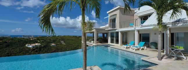 SPECIAL OFFER: St. Martin Villa 348 Spectacular Views In Terres Basses.