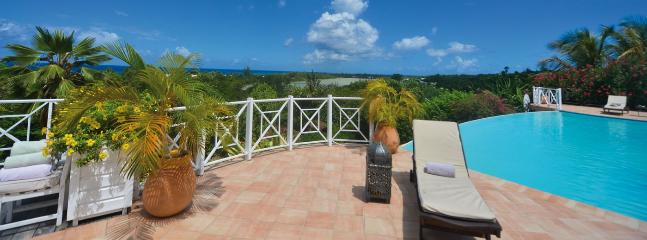 SPECIAL OFFER: St. Martin Villa 384 Located Close To La Samanna Hotel Giving Lovely Views Over Baie Longue And The Caribbean Sea., Terres Basses