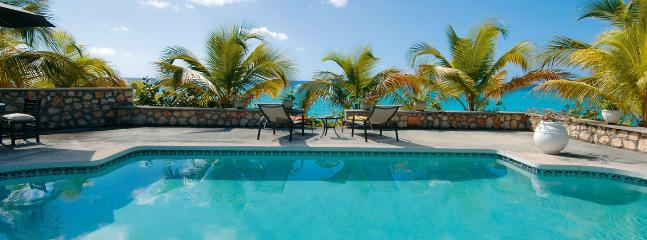 Baie Longue Beach House SPECIAL OFFER: St. Martin Villa 355 The Large Swimming Pool Is A Wonderful Place To Relax And Spend The Day Lounging., Terres Basses