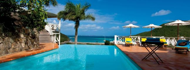 SPECIAL OFFER: St. Martin Villa 120 Surrounded By Lush Tropical Vegetation The Villa Has A Large Infinity Pool, A Spacious Terrace And A Charming Gazebo Built Into The Hillside., Cul de Sac