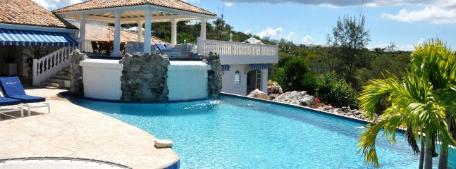 Villa Cascades SPECIAL OFFER: St. Martin Villa 121 Just Steps Away From The Beautiful Unspoiled Beach Of Plum Bay., Terres Basses
