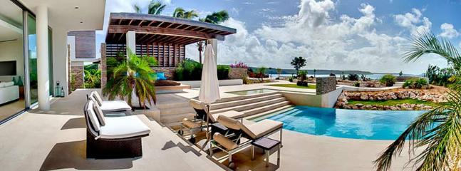SPECIAL OFFER: Anguilla Villa 99 Perched On The Edge Of The Dramatic Cliffs Overlooking Little Bay.